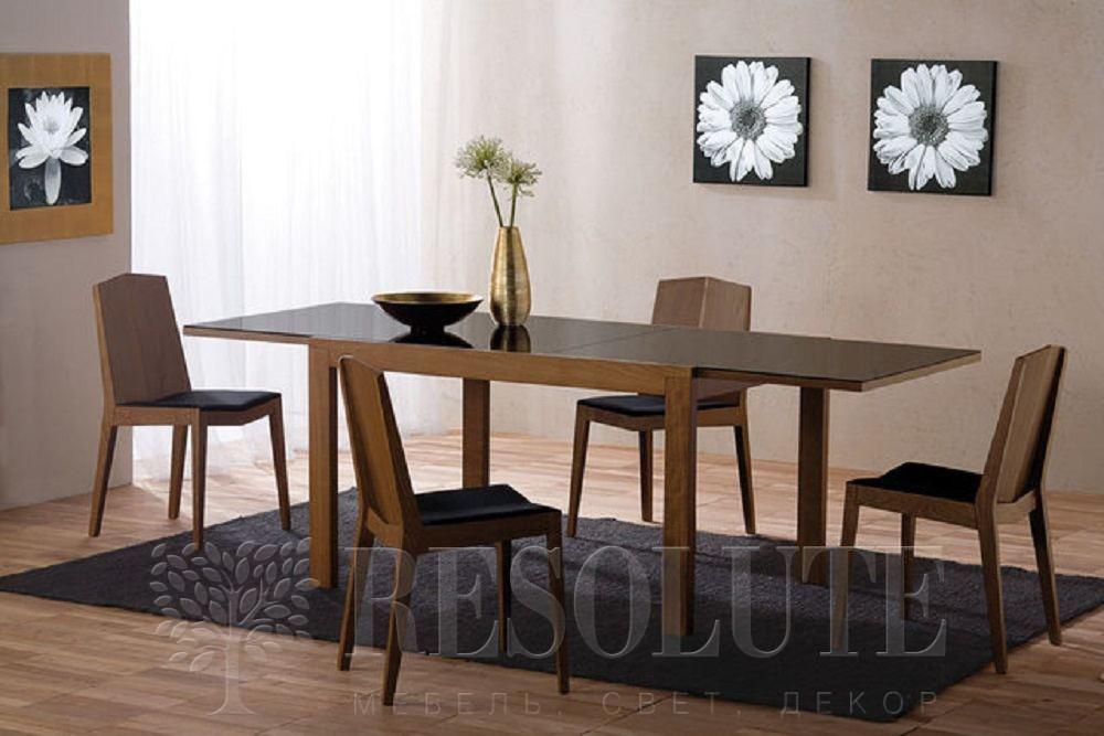 Стол деревянный со стеклом Connubiai CB/4704-V130 Smart  - 1