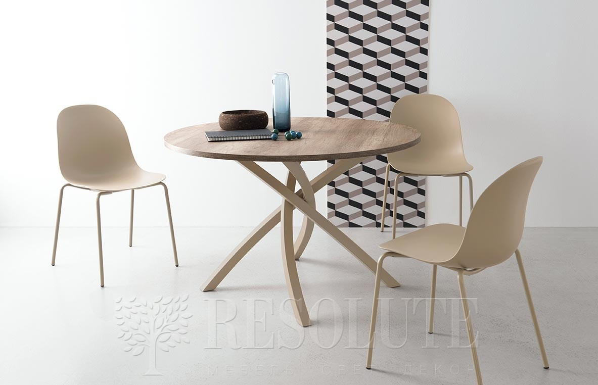 Стол TWISTER CB/4782-RD 120 Connubia by Calligaris - 3