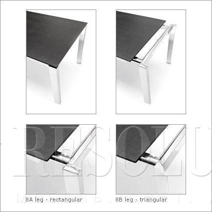 Стол металлический Calligaris Baron CS/4010-ML 110 - 1