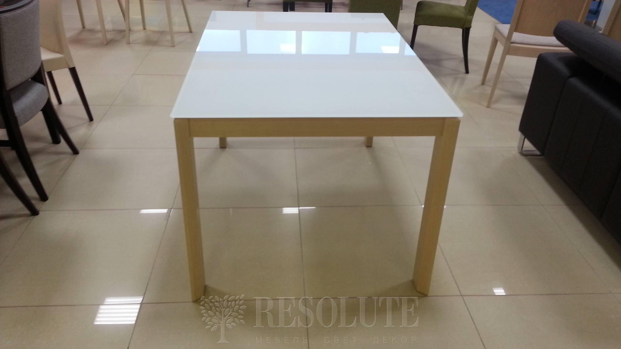 Стол деревянный со стеклом Connubia G/4724-W130 Eminence - 2