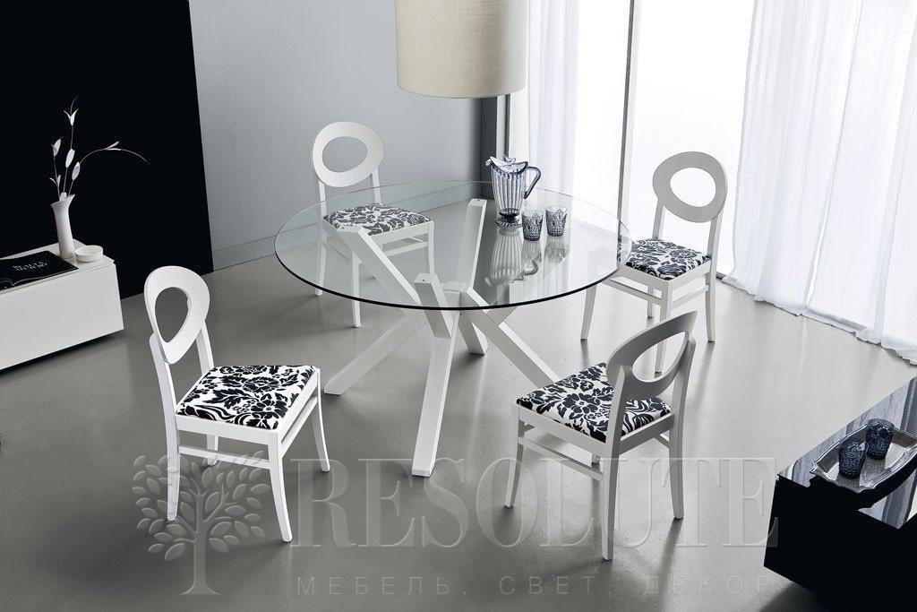 Стол деревянный со стеклом Connubia CB/4728-V120 Mikado - 2