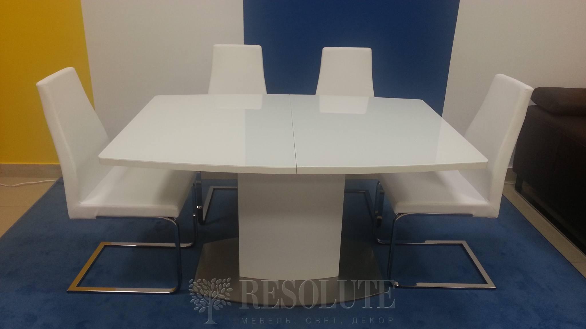 Стол металлический со стеклом Olivo&Godeassi G/4726 Sydney - 3