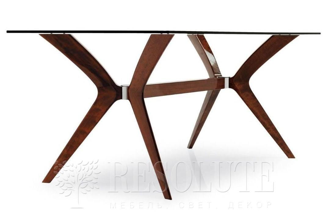 Стол деревянный со стеклом Calligaris CS/18-RC 180 G TOKYO - 2
