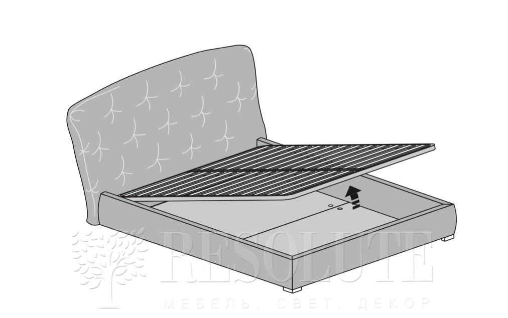 Кровать двуспальная PEOPLE MAB  - 3