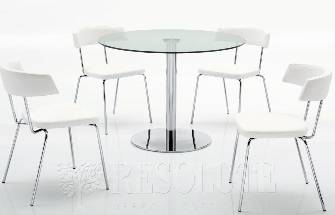 Стол металлический со стеклом Olivo&Godeassi G/4719 Saturn - 2