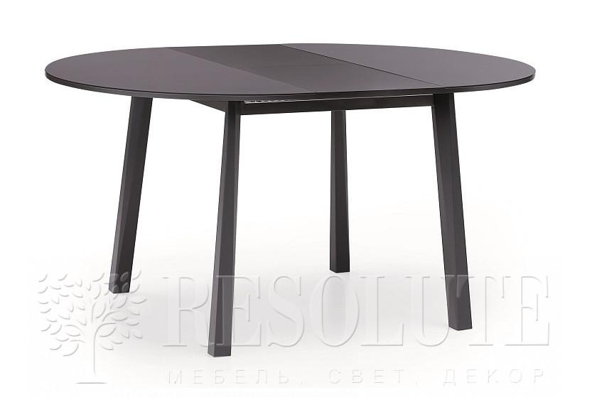 Стол деревянный со стеклянной столешнице Hydra Round 1858 - 1