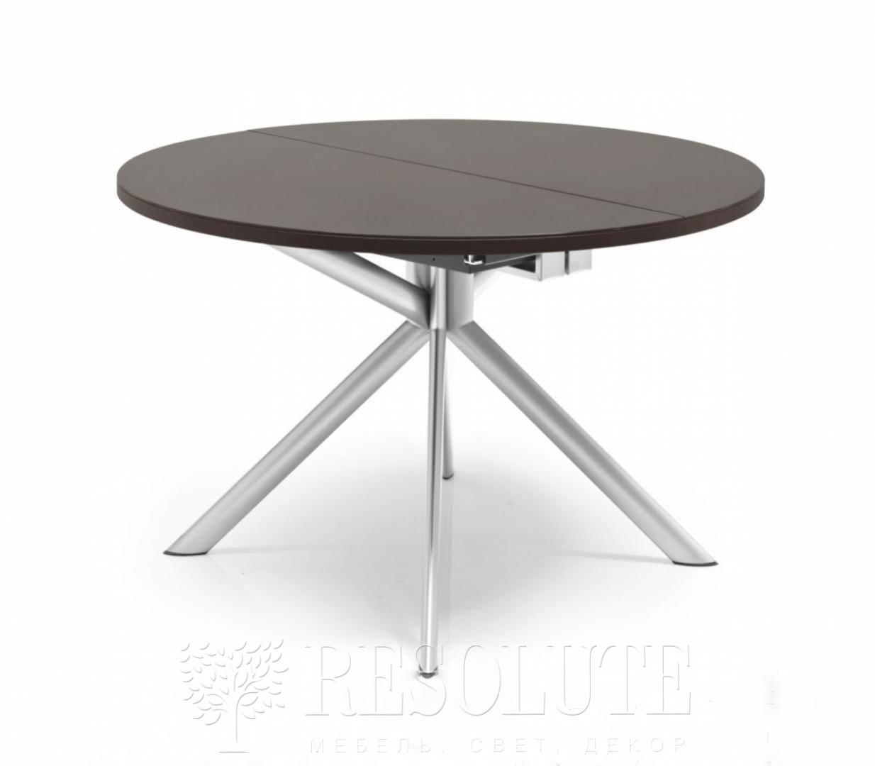 Стол металлический со стеклом Olivo&Godeassi G/4738 Meteor - 3