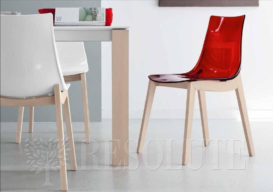 Стол деревянный со стеклом Connubia G/4724-W130 Eminence - 1