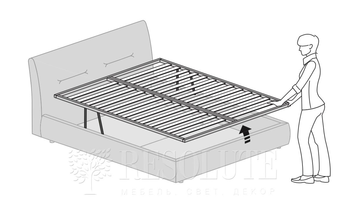 Кровать двуспальная Moon MAB - 4