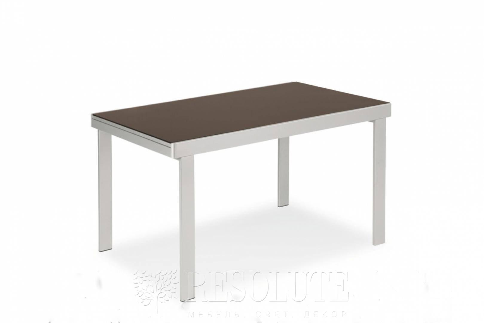 Стол металлический со стеклом Olivo&Godeassi G/4707 Matrix - 1