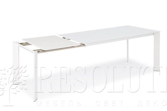 Стол металлический со стеклом Olivo&Godeassi G/4751 Steel - 3