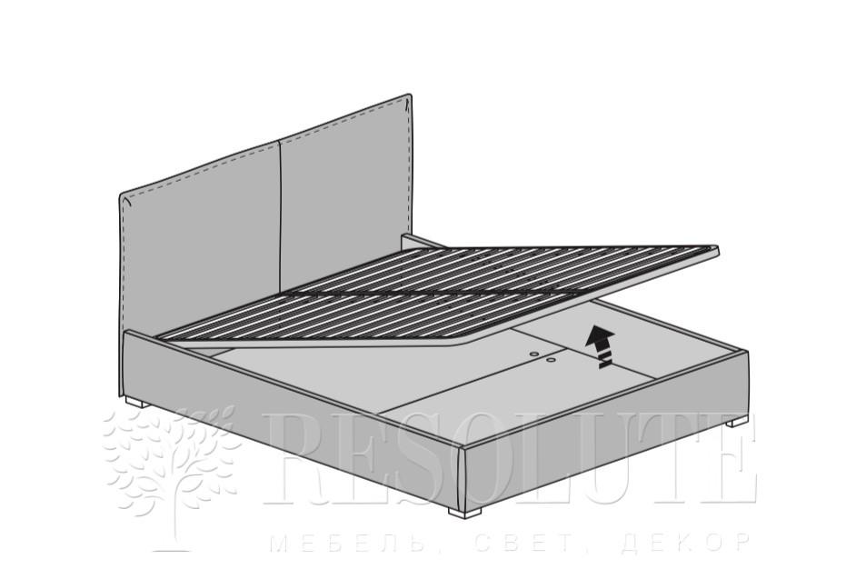 Кровать двуспальная MAB City - 1