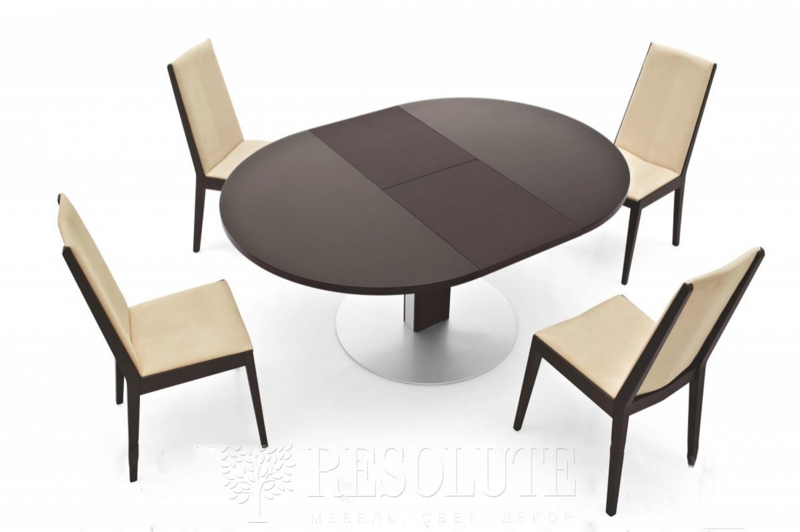 Стол металлический со стеклом Olivo&Ggodeassi 4756-RD Thesis - 3
