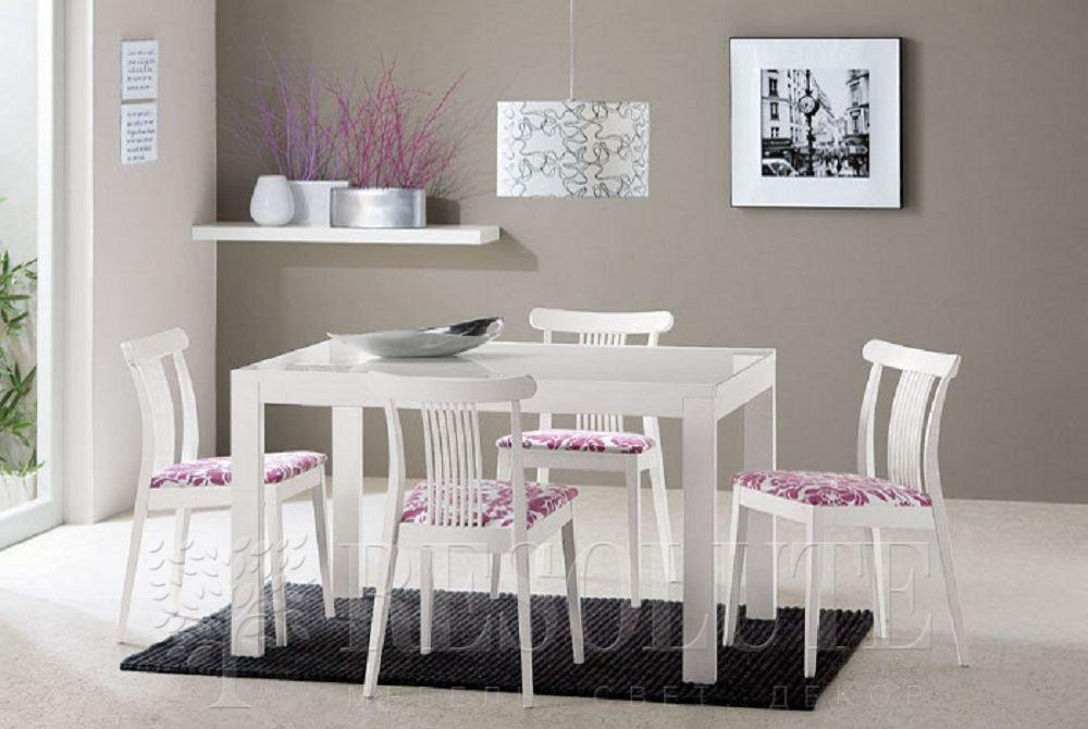 Стол деревянный со стеклом Connubiai CB/4704-V130 Smart  - 5