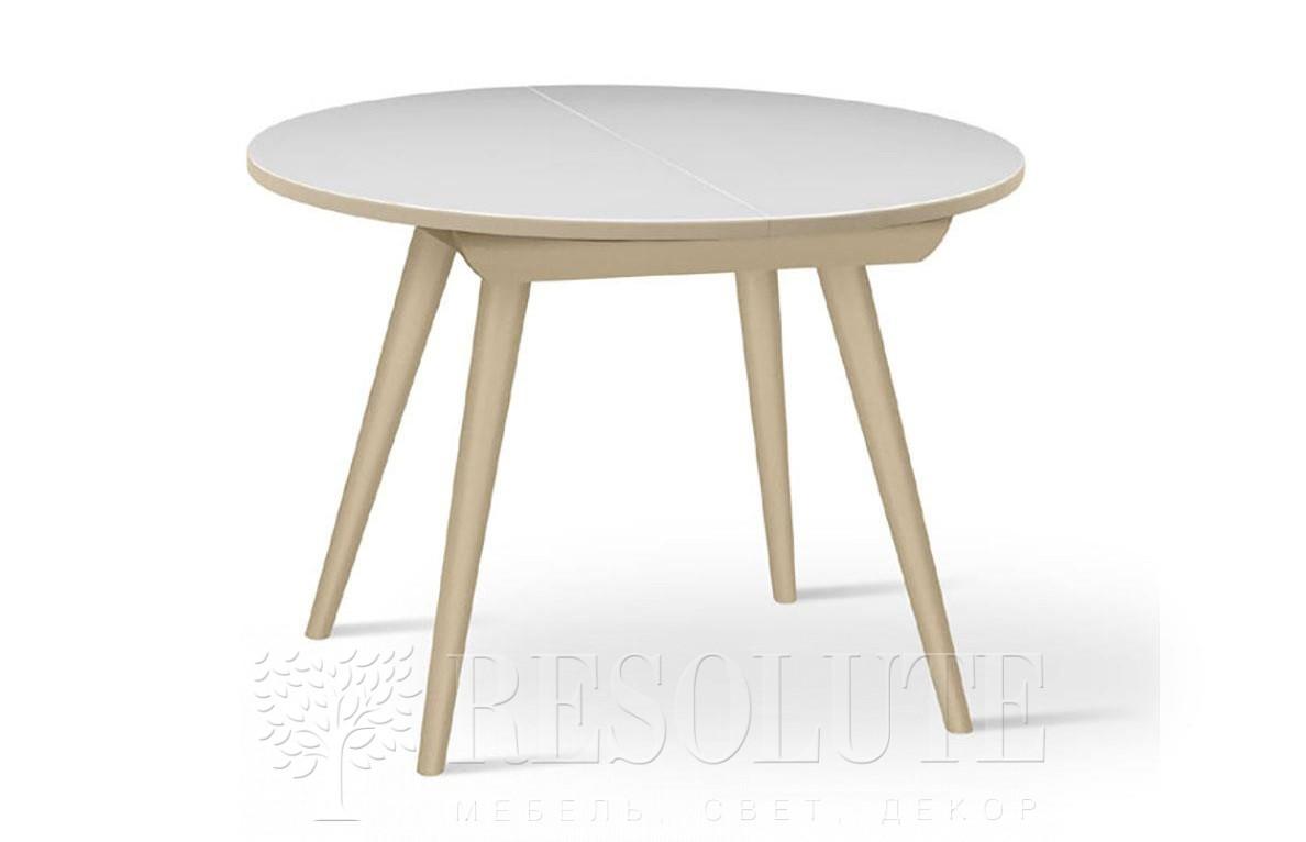 Стол деревянный со стеклянной столешницей Aris 95 Natisa TL 1323 - 1