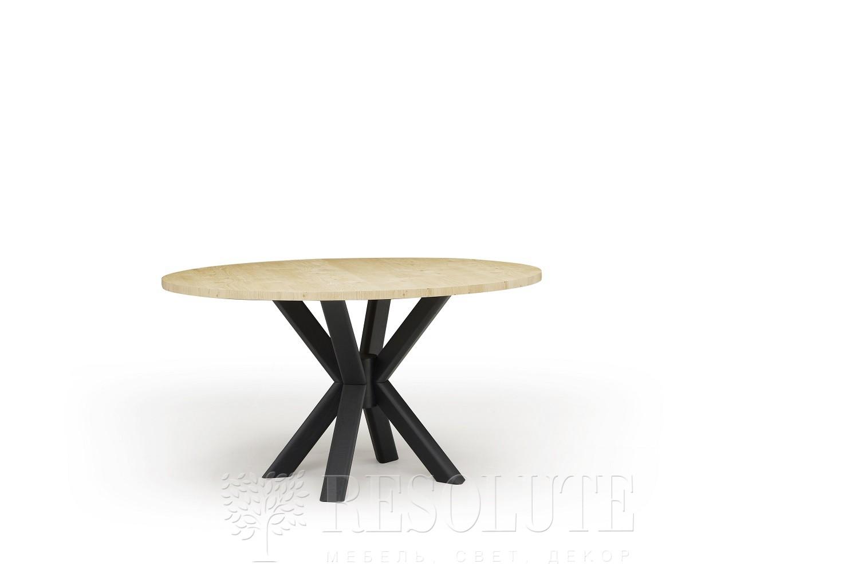 Стол с деревянной столешницей TL 1775 RAY 140 Natisa - 1