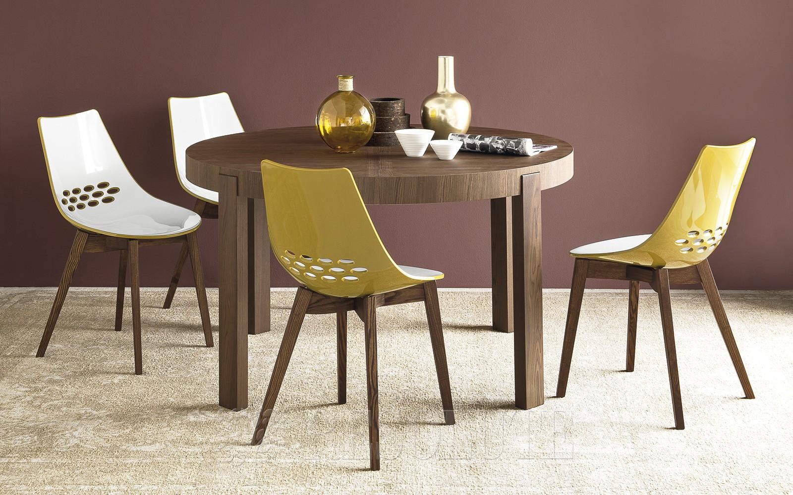 Стол деревянный Calligaris CS/398-RD ATELIER - 3
