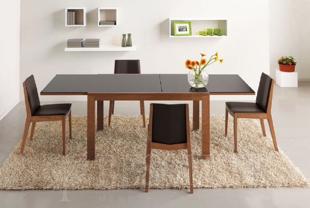 Стол деревянный со стеклом Connubiai CB/4704-V130 Smart  - 4