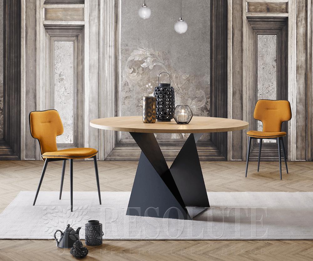 Стол с деревянной столешницей Cube NATISA  - 2