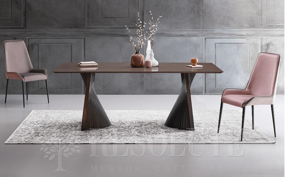 Стол деревянный c керамической столешницей  Natisa BOW TL 1891 - 1