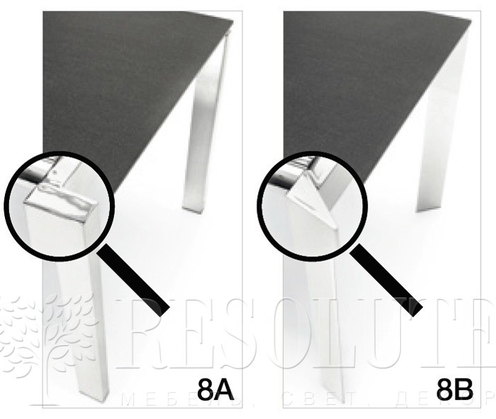 Стол металлический Calligaris CONVOY CS/4047-MSM - 1