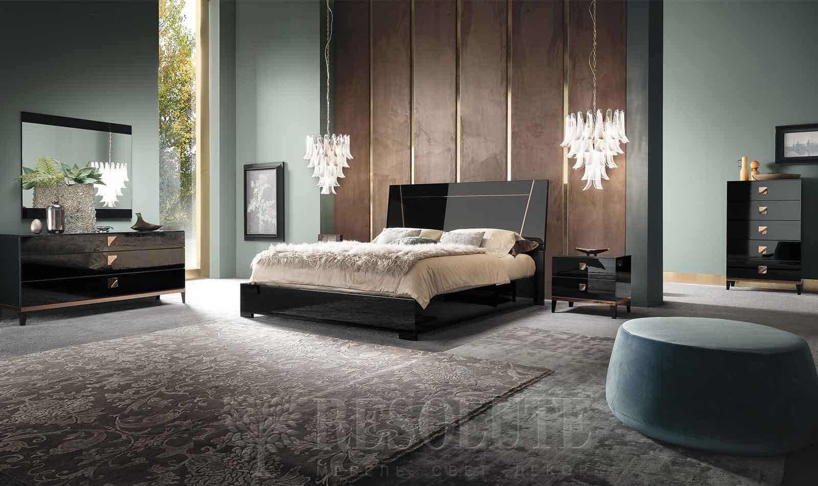 Кровать двуспальная MONT NOIR ALF - 1