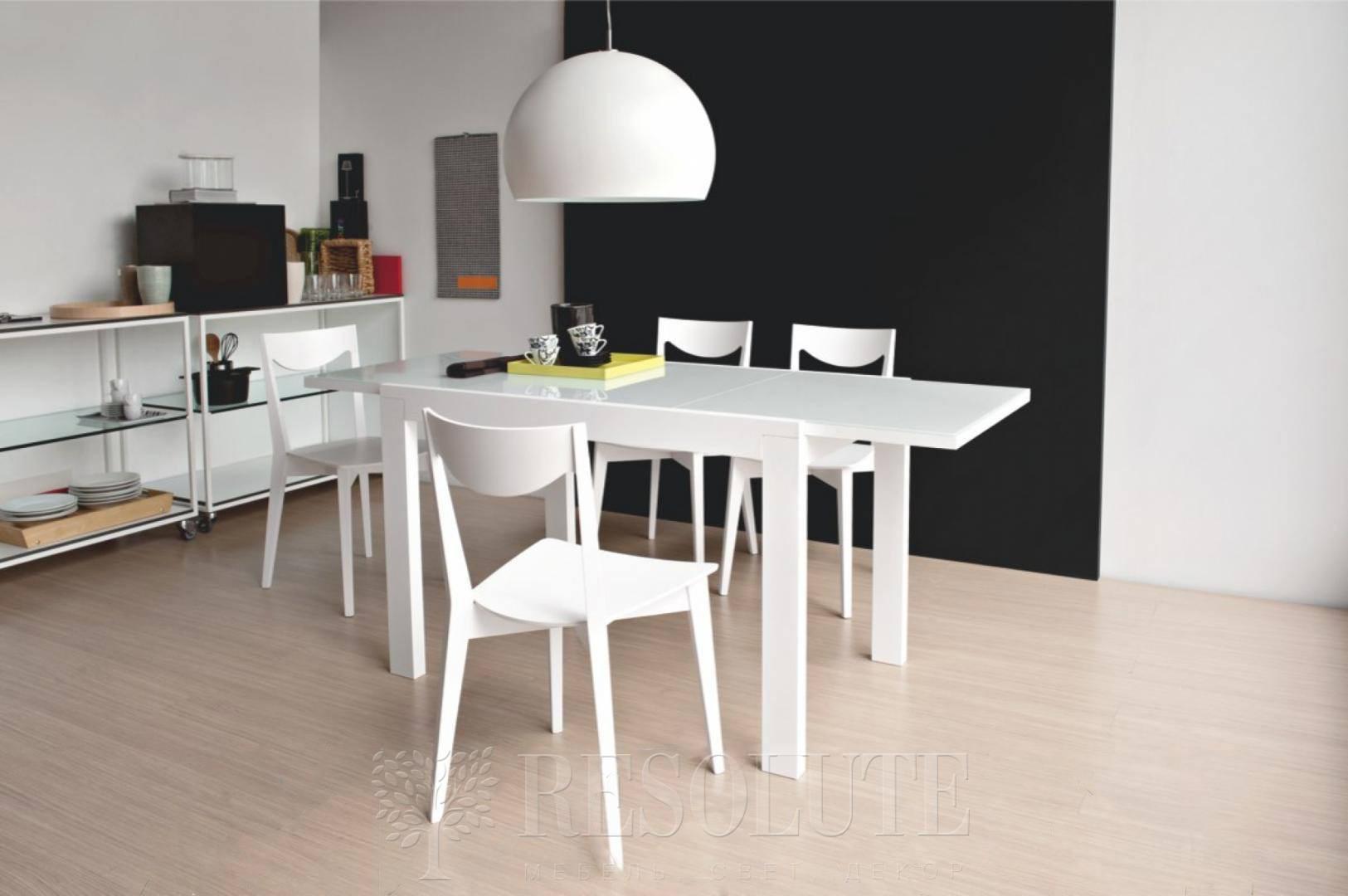 Стол деревянный со стеклом Connubia G/4704-V110 Smart - 2