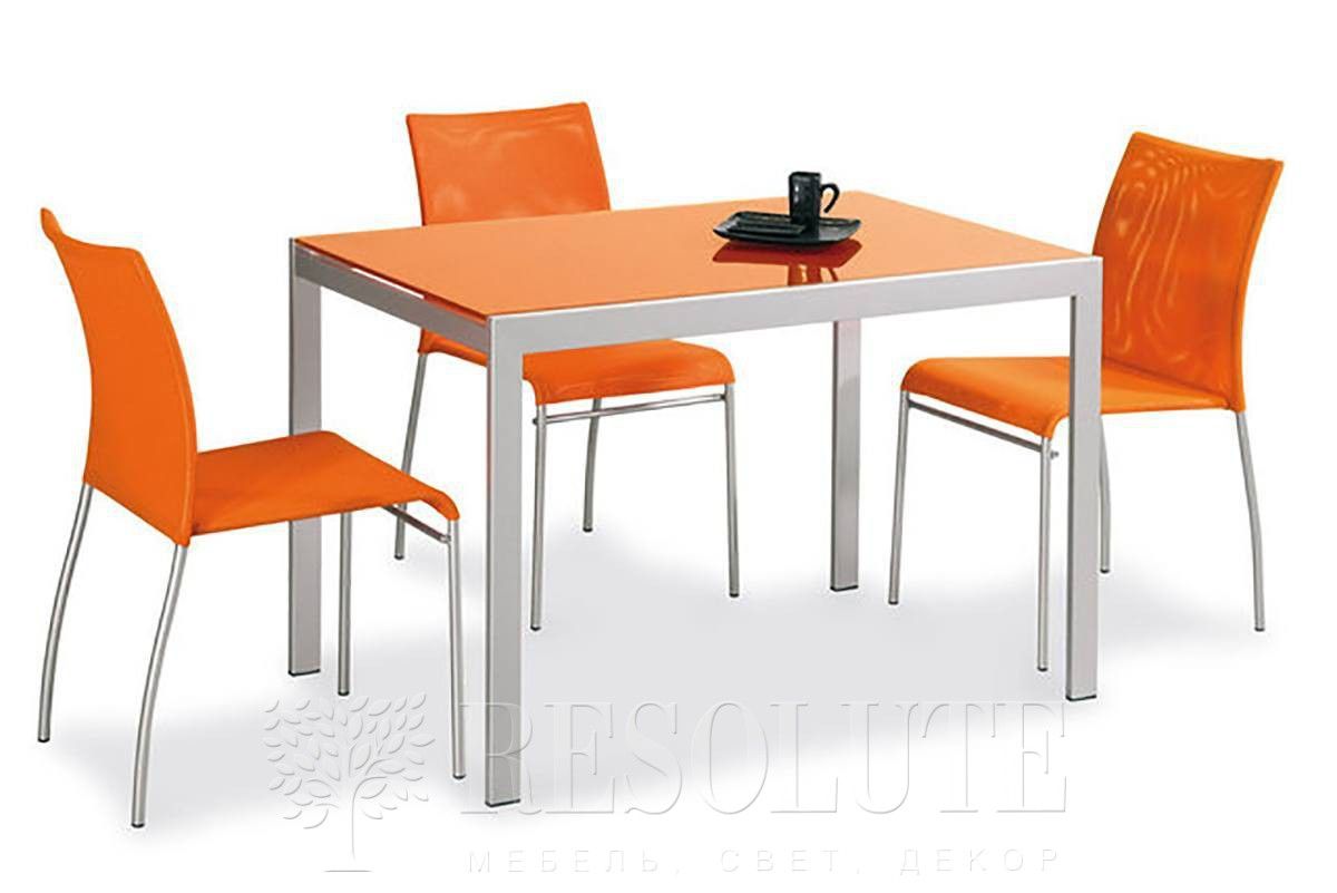 Стол металлический со стеклом Connubia CB/4742 V Aladino - 1