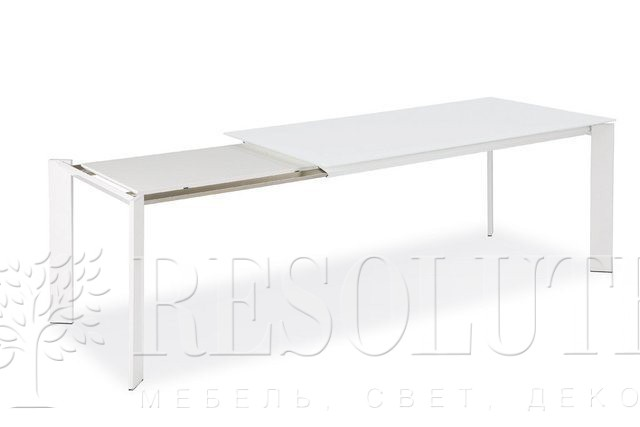 Стол металлический со стеклом Olivo&Godeassi G/4751 Steel - 4