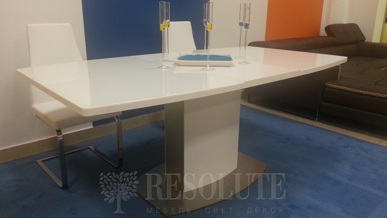 Стол металлический со стеклом Olivo&Godeassi G/4726 Sydney - 4