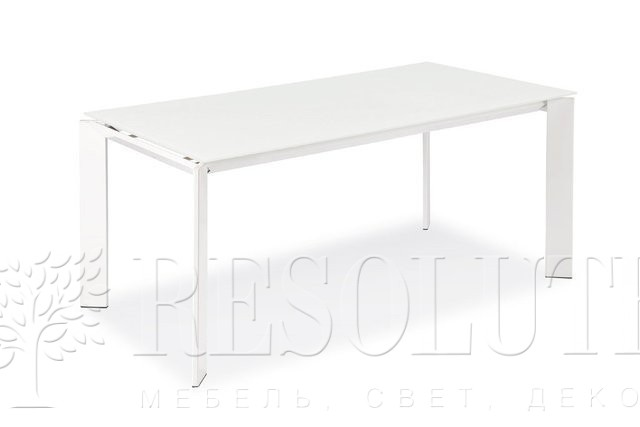 Стол металлический со стеклом Olivo&Godeassi G/4751 Steel - 2