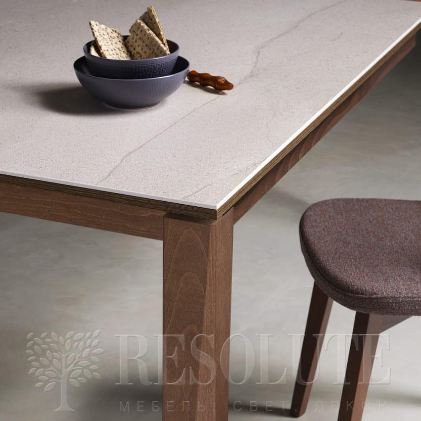 Стол деревянный с керамической столешницей 1811 Vigo NATISA - 1