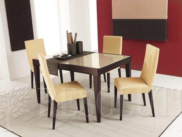 Стол деревянный со стеклом Connubia CB/4702-V130 Fly - 5