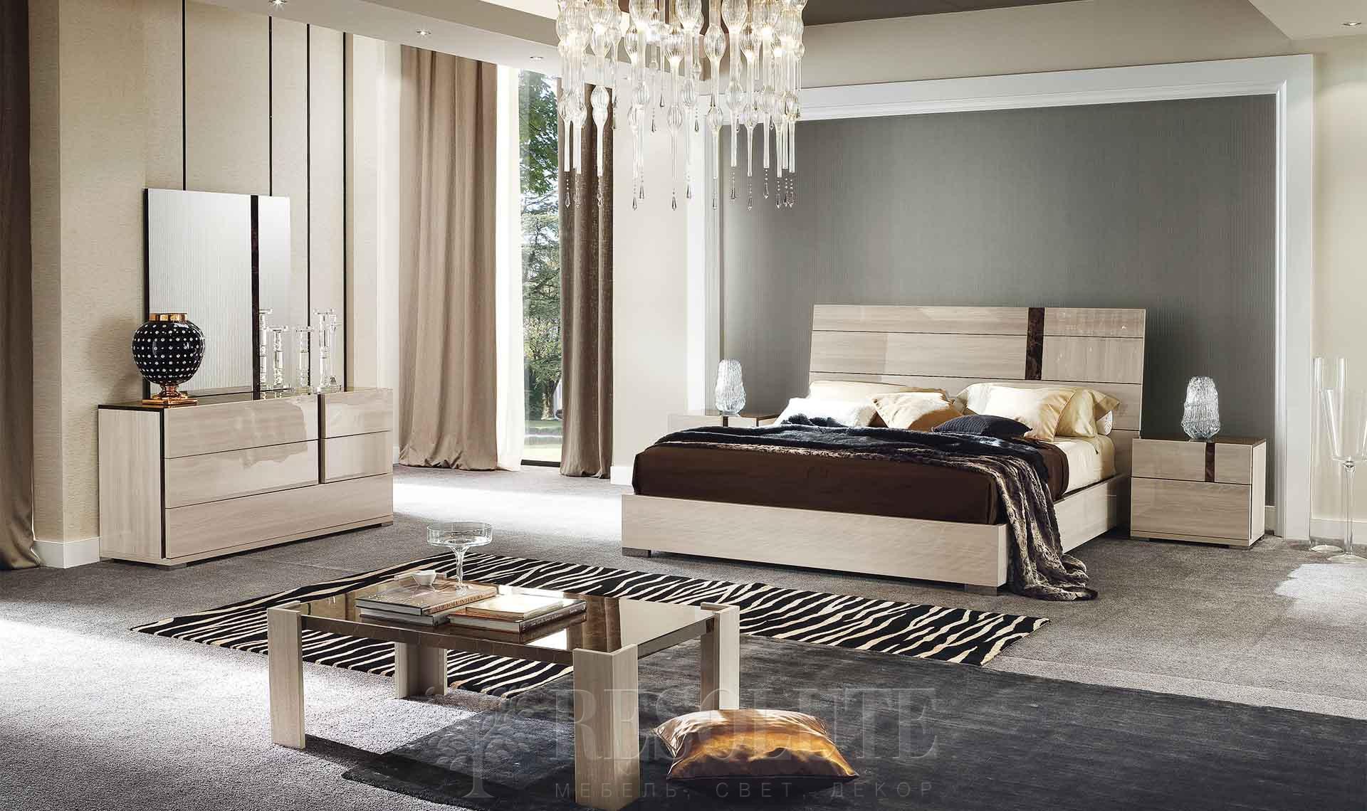 Кровать двуспальная TEODORA ALF - 2