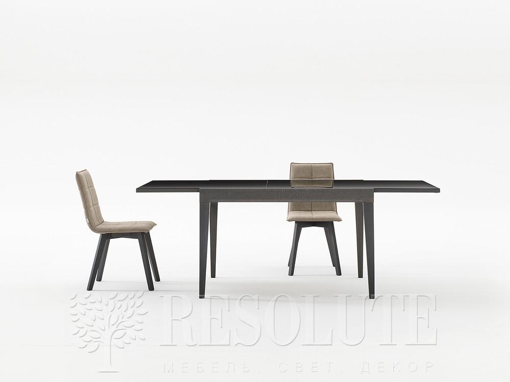 Стол деревянный со стеклянной столешницей Jake 130 Natisa TL 1463 - 1