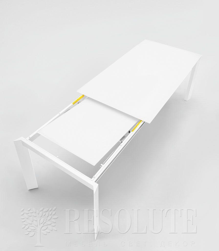 Стол металлический со стеклом Calligaris CS4010-MV 110 BARON - 2