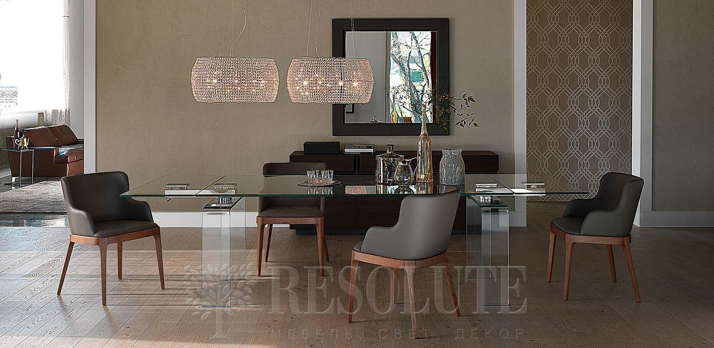 Стол стеклянный Azimut Cattelan Italia - 2