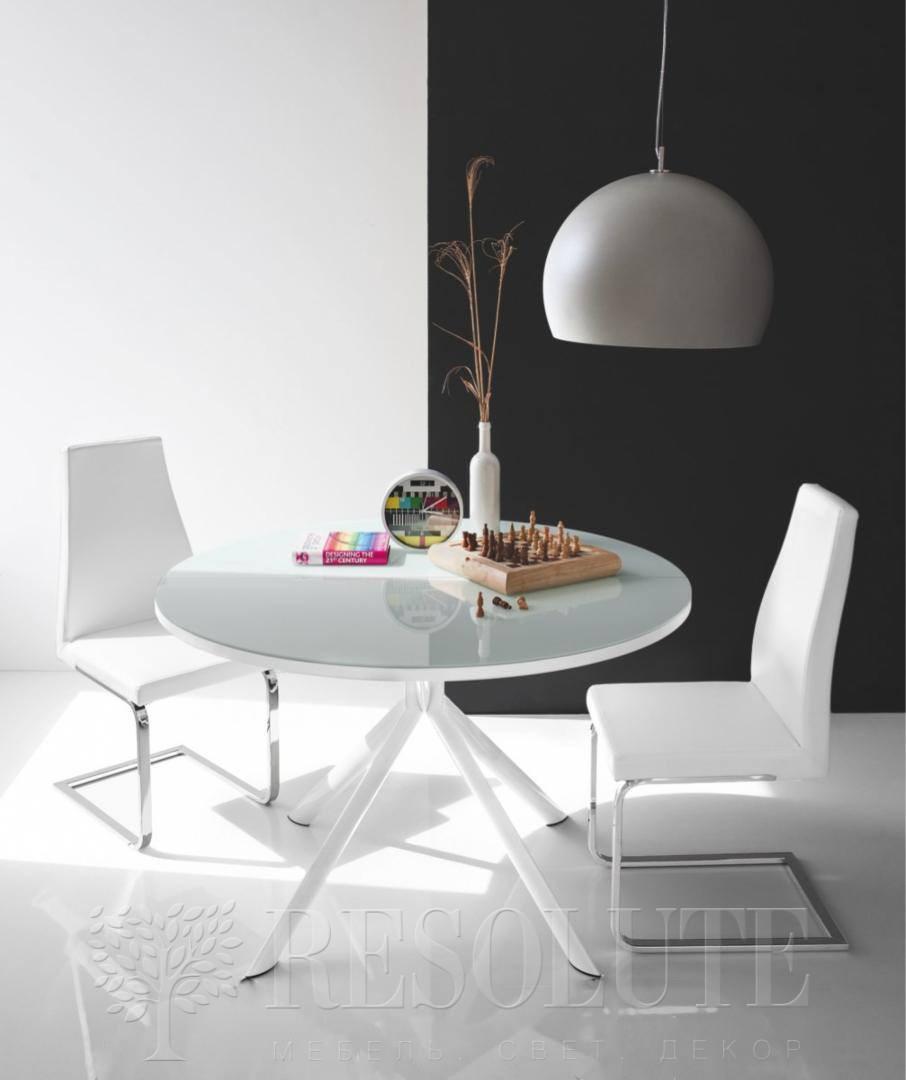Стол металлический со стеклом Olivo&Godeassi G/4738 Meteor - 2