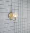Настенный светильник для ванной комнаты MARKSLOJD LIBERTY Brass 106381 - 1