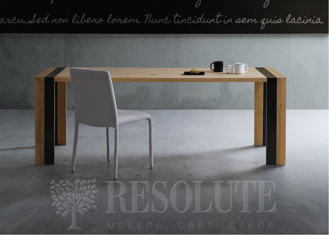 Стол с деревянной столешницей TM 1391 ZACK  Natisa