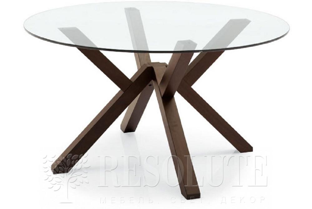 Стол деревянный со стеклом Connubia CB/4728-V120 Mikado