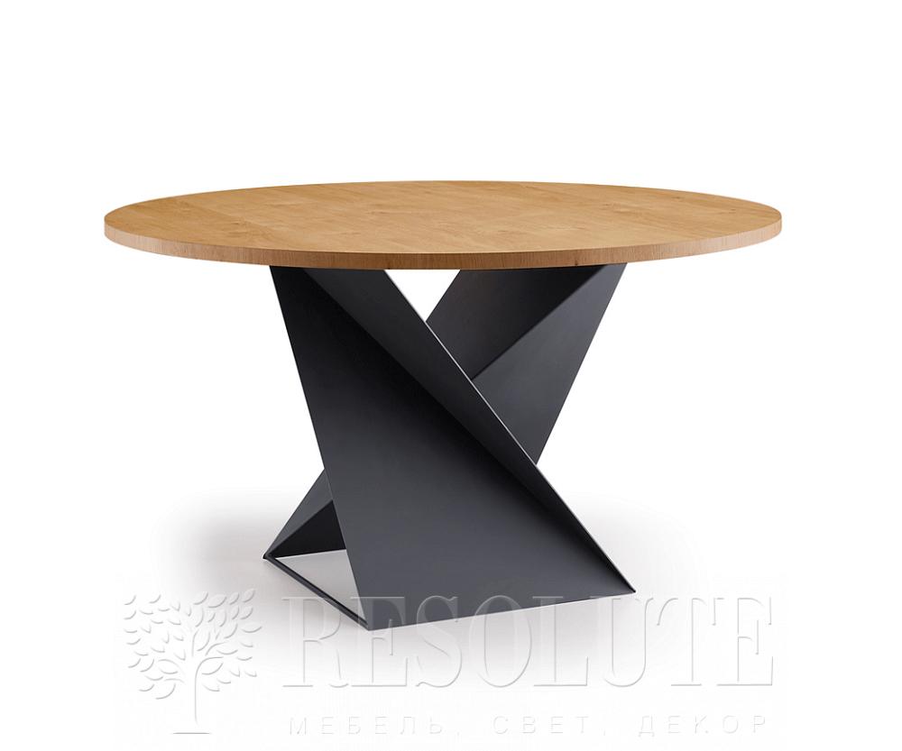 Стол с деревянной столешницей Cube NATISA