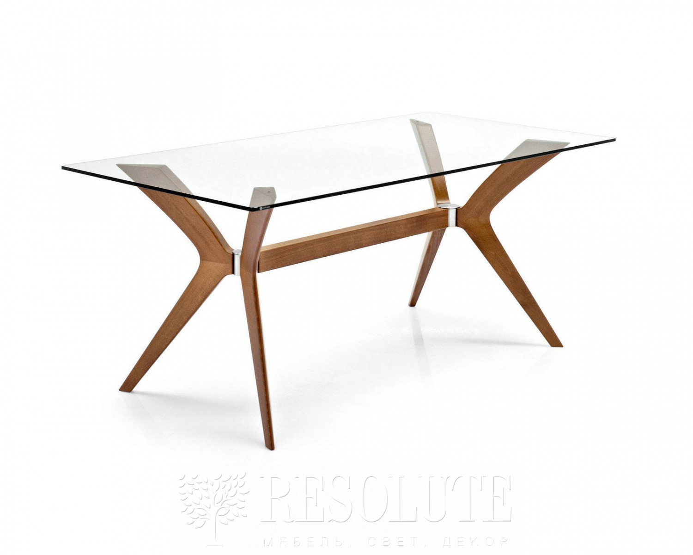 Стол деревянный со стеклом Calligaris CS/18-RC 180 G TOKYO