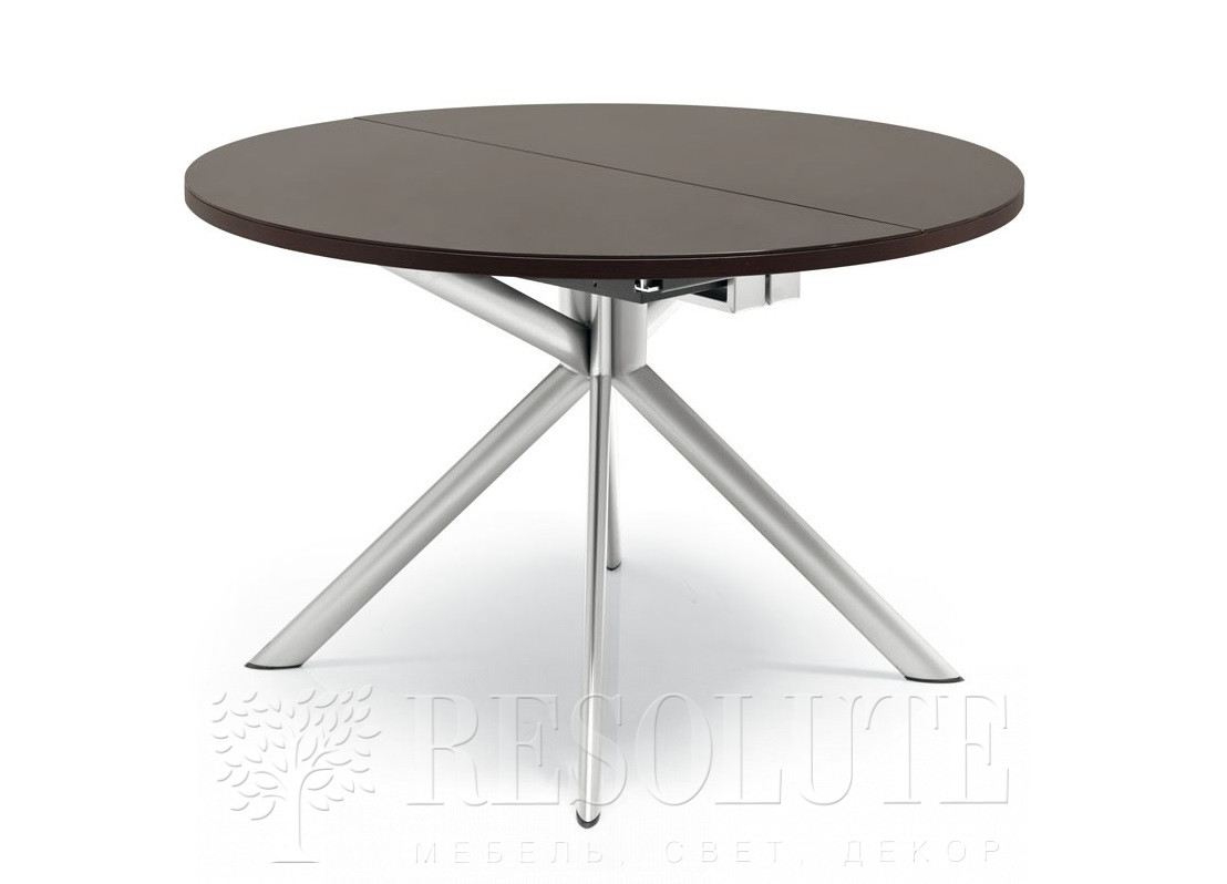 Стол металлический со стеклом Olivo&Godeassi G/4738 Meteor