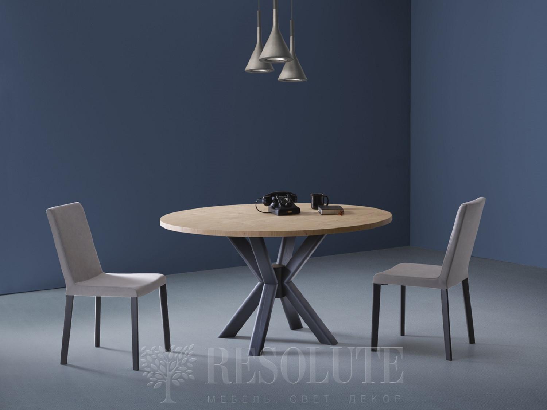 Стол с деревянной столешницей TL 1775 RAY 140 Natisa