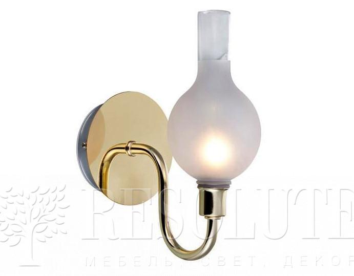 Настенный светильник для ванной комнаты MARKSLOJD LIBERTY Brass 106381