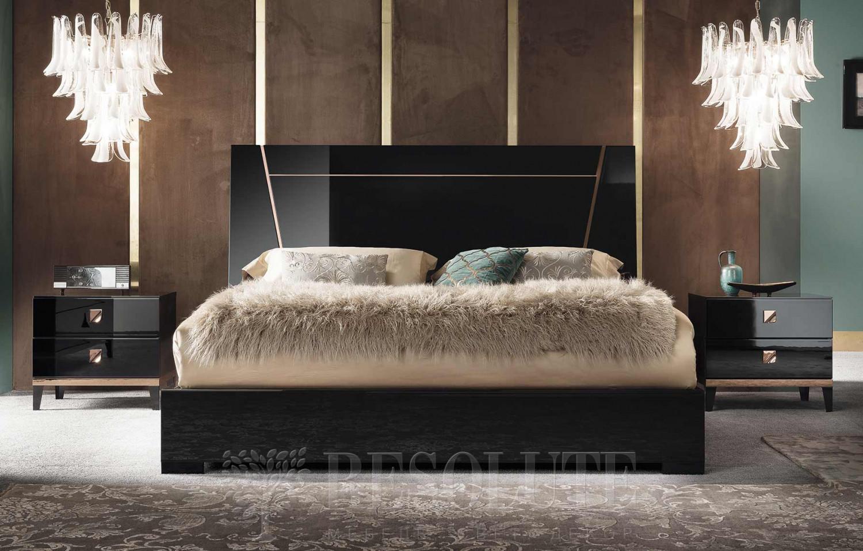 Кровать двуспальная MONT NOIR ALF