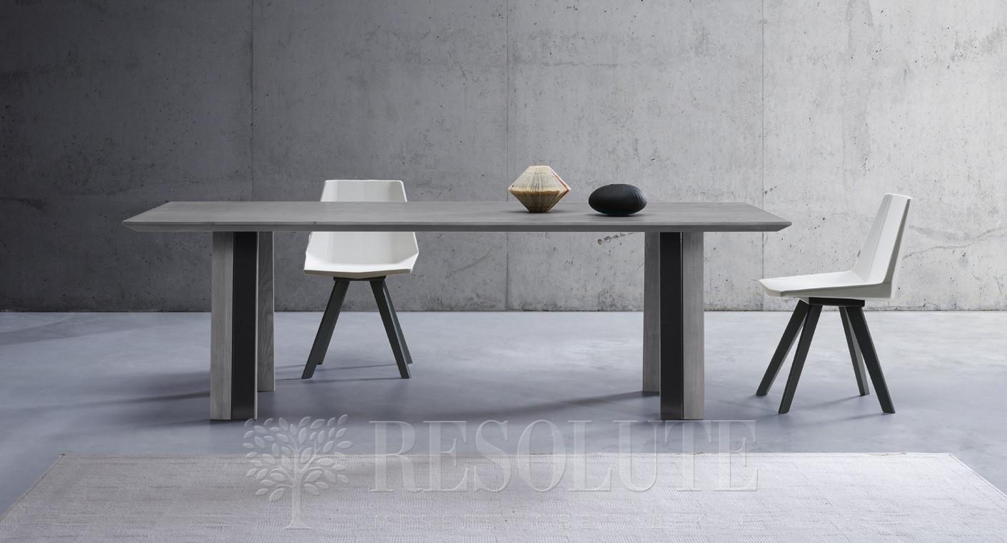Стол с деревянной столешницей TM 1371 Juno Natisa