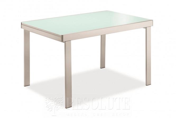 Стол металлический со стеклом Olivo&Godeassi G/4707 Matrix