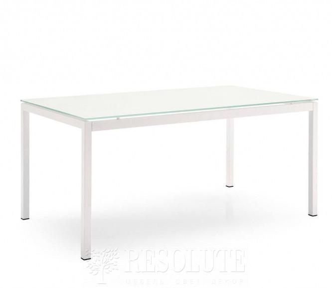 Стол металлический со стеклом Calligaris CS/369-FX S AVANTGARDE